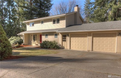 Olympia Single Family Home For Sale: 1732 Medallion Lp NW