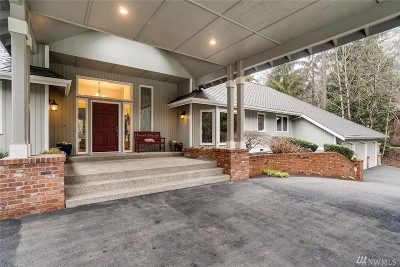 Woodinville Single Family Home For Sale: 16635 168th Place NE