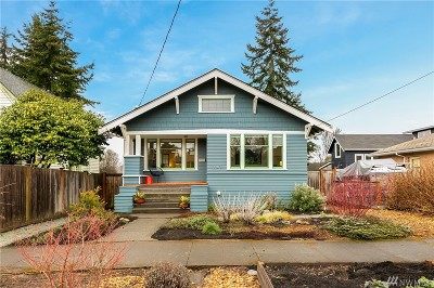 Seattle Single Family Home For Sale: 3047 NW 70th St