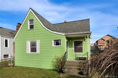 Seattle Single Family Home For Sale: 8510 18th Ave NW