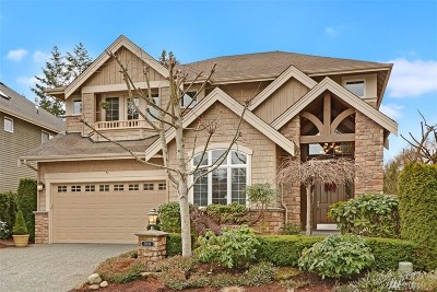 Sammamish Single Family Home For Sale: 2093 211th Place SE