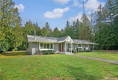 Poulsbo Single Family Home For Sale: 19388 Langaunet Lane NE