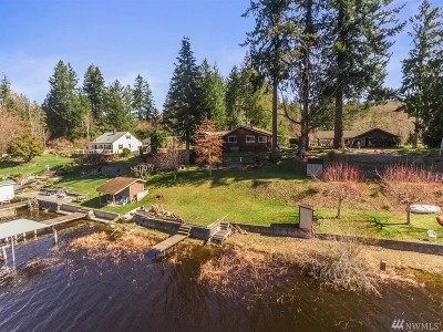 Port Orchard Single Family Home For Sale: 6910 Long Lake Rd SE