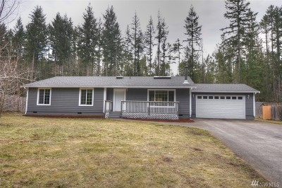 Yelm Single Family Home Pending Inspection: 18541 Stagecoach Lane SE