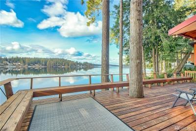 Single Family Home For Sale: 1060 E Mason Lake S