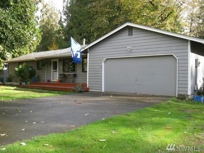 Mason County Single Family Home Pending Inspection: 220 NE Sandhill Rd
