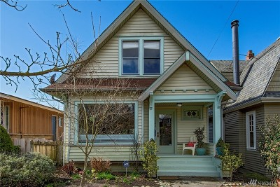 Seattle Single Family Home For Sale: 1933 4th Ave W