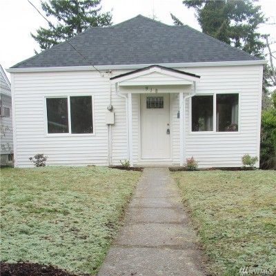 Port Orchard Single Family Home Pending Inspection: 918 Sidney Ave