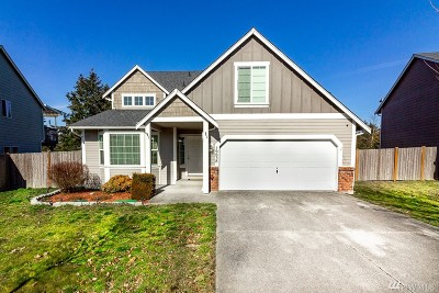 Yelm Single Family Home For Sale: 16638 91st Ave SE