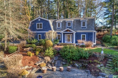 Gig Harbor Single Family Home Pending Inspection: 14 Rhododendron Dr NW