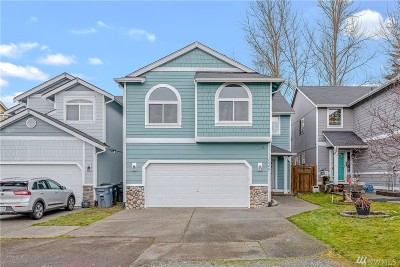 Spanaway Single Family Home For Sale: 1329 196th St E