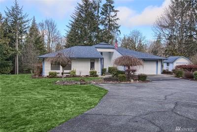 Thurston County Single Family Home For Sale: 4931 Foxtrail Dr NE