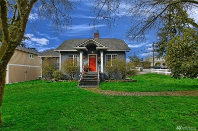 Everett Single Family Home For Sale: 3802 Wetmore Ave