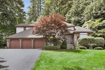 Woodinville Single Family Home For Sale: 17909 163rd Ave NE