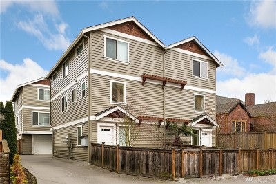Seattle Single Family Home For Sale: 6340 34th Ave SW #B