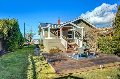Seattle Single Family Home For Sale: 2849 NW 96th St