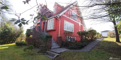 Grays Harbor County Single Family Home For Sale: 809 N Williams