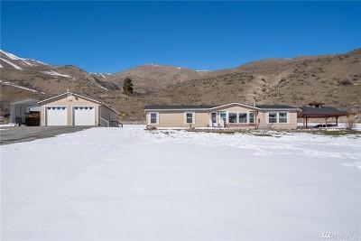 Chelan County Single Family Home For Sale: 7693 Nahahum Canyon Rd