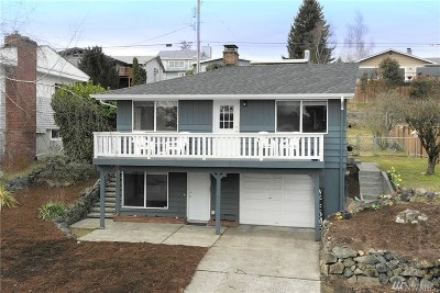 Tacoma Single Family Home For Sale: 4512 N Bristol St