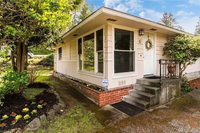 Shoreline Single Family Home For Sale: 1011 NE 188th St
