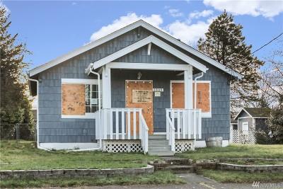 Tacoma WA Single Family Home For Sale: $180,000