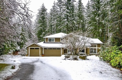 North Bend WA Single Family Home For Sale: $899,995