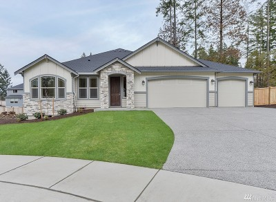 Gig Harbor Single Family Home Contingent: 3605 Fox Ct