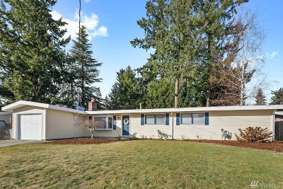 Bellevue Single Family Home For Sale: 16620 SE 9th St