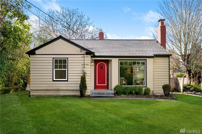 Shoreline Single Family Home For Sale: 15715 Greenwood Ave N