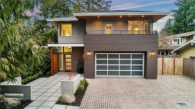 Mercer Island Single Family Home For Sale: 8426 SE 36th St
