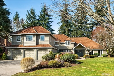 Mercer Island Single Family Home For Sale: 7455 80th Place SE