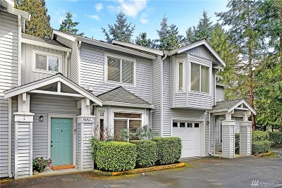 Redmond Condo/Townhouse For Sale: 18003 NE 93rd Ct #2