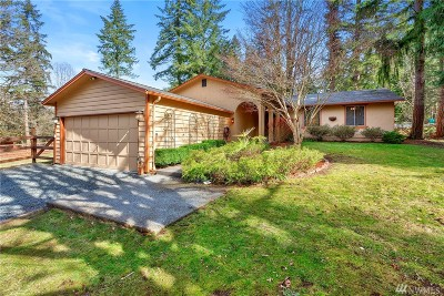 Woodinville Single Family Home For Sale: 16510 213th Place NE