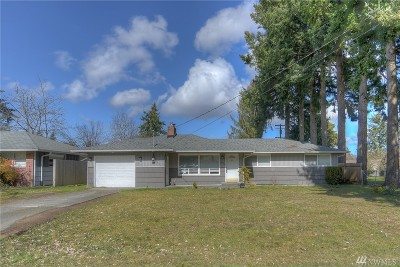 Lacey Single Family Home Pending: 4712 14th Ave SE