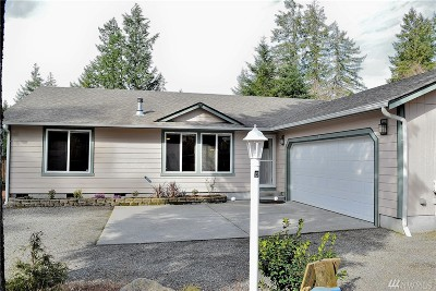 Olympia Single Family Home Pending Inspection: 8025 SW Treasure River Trail