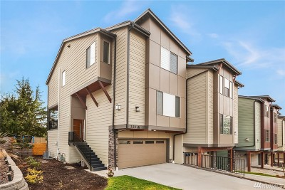 Renton Condo/Townhouse For Sale: 321 S 47th St #A