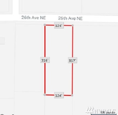 Residential Lots & Land For Sale: 2711 26th Ave NE