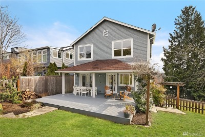 Seattle Single Family Home For Sale: 611 25th Ave E