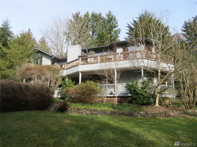 Bainbridge Island Single Family Home For Sale: 4333 NE Rhodes End Rd