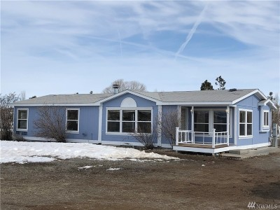 Ephrata Single Family Home For Sale: 14257 Empire Rd NE