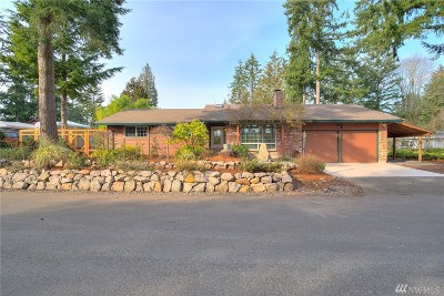Single Family Home For Sale: 12524 SE 99th St