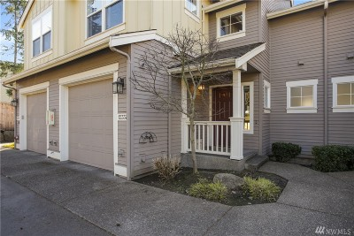 Kirkland Condo/Townhouse For Sale: 12337 NE 92nd St