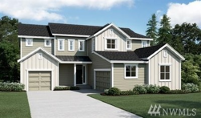 Puyallup Single Family Home Contingent: 2418 Fruitland Ridge Dr