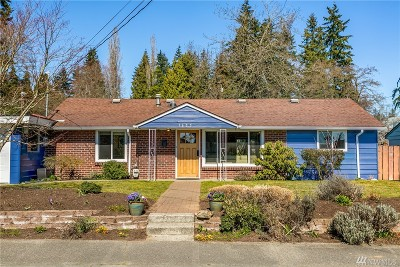 Mountlake Terrace Single Family Home For Sale: 5605 240th St SW