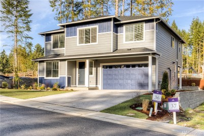 Poulsbo Single Family Home Contingent: 21915 NW Westwood (Lot 25) St