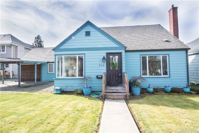 Grays Harbor County Single Family Home For Sale: 414 L St