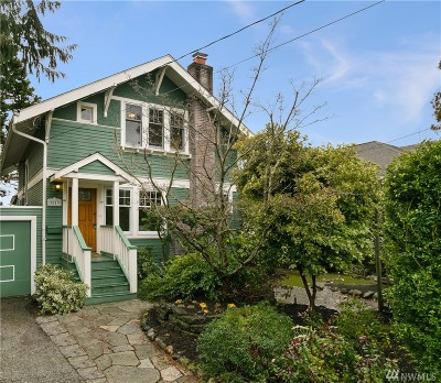 Seattle Single Family Home For Sale: 3019 NW 58th St