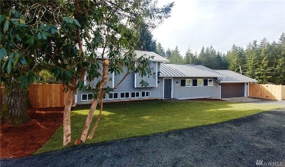 Grays Harbor County Single Family Home For Sale: 219 W Garden Hill Rd