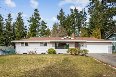 Port Orchard Single Family Home Pending Inspection: 3725 SE Pine Tree Dr