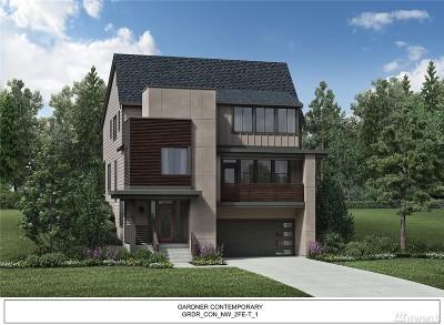 Redmond Single Family Home For Sale: 16525 NE 47th (Homesite 10) St